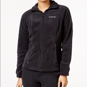 Women's Columbia Dark Grey Fleece ZIP Up